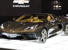 Chevrolet Corvette C8 sắp về Việt Nam được giới thiệu tại Nhật Bản với mức giá từ 2,5 tỷ đồng