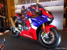 Siêu mô tô Honda CBR1000RR-R SP ra mắt Đông Nam Á, chốt giá 1,1 tỷ đồng