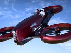 Formula Drone One - Mẫu xe bay đẹp mãn nhãn lấy cảm hứng từ xe đua F1 Ferrari thập niên 1950