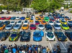 Hơn 50 siêu xe McLaren tụ tập ở Hồng Kông mừng năm mới, có tận 8 cực phẩm hàng hiếm