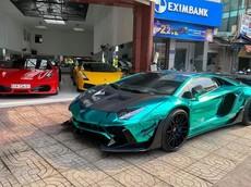 """Lamborghini Aventador Limited Edition 50 """"chia tay"""" chủ ở Vũng Tàu về Sài thành định cư"""