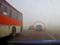 Thanh tra cảnh sát say rượu, lái ô tô gây tai nạn nghiêm trọng trong sương mù