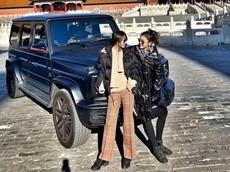 Hot girl con nhà giàu lái xe Mercedes-AMG G63 Edition 1 vào Tử Cấm Thành gây phẫn nộ