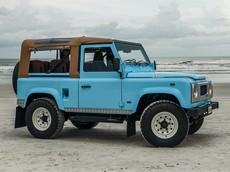 Reef 90 - Chiếc Land Rover Defender giá trên 4 tỷ đồng hoàn hảo cho các chuyến đi biển