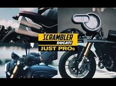 Ducati sẽ ra mắt mẫu xe mang tên Ducati Scrambler 1100 Pros