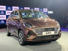 Hyundai Aura 2020 - phiên bản sedan của Grand i10 - được chốt giá từ 189 triệu đồng tại Ấn Độ