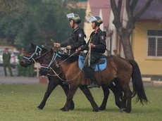 CSCĐ cưỡi ngựa tuần tra từ năm 2020