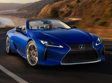 Lexus LC 500 Convertible Inspiration Series mã VIN 100001 được bán đấu giá hơn 46 tỷ đồng