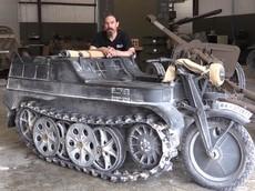 Khám phá Kettenkrad - Phương tiện lai tạo xe máy/xe tăng của Đức trong Thế Chiến II