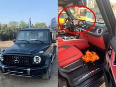 """""""Khui công"""" Mercedes-AMG G63 2019 đen nhám đi cùng nội thất đỏ những ngày cận Tết Nguyên đán"""