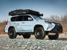 """Lexus GX Overland Concept - Xe """"cắm trại sang trọng"""" với các trang bị khiến người mua phát thèm"""