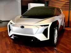 Subaru bất ngờ hé lộ cái nhìn đầu tiên về xe crossover điện đồng phát triển với Toyota