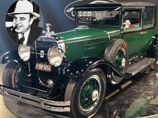 Chiếc Cadillac gần 100 tuổi nhưng bọc thép chống đạn của trùm ma túy Al Capone có giá 1 triệu USD
