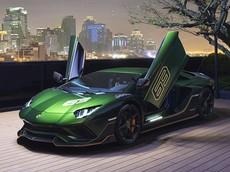 1 trong 5 chiếc siêu xe Lamborghini Aventador S Taiwan Edition độc quyền đến Đài Loan, giá gần 21 tỷ đồng