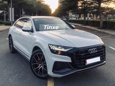 """Cận cảnh 1 trong 2 chiếc Audi Q8 2019 mang màu trắng ở Việt Nam, chủ nhân còn sở hữu siêu xe """"khủng"""""""