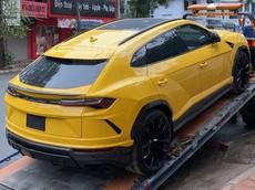 Con trai Bầu Hiển nhận bàn giao Lamborghini Urus vào trưa 30 Tết Nguyên đán