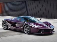 Mùng 2 Tết, cùng diện kiến chiếc Ferrari LaFerrari có màu sơn tím Rosso Vinaccia độc nhất thế giới