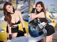 Thiên thần Cup E khoe vẻ đẹp gợi cảm bên đường đua Thái Lan