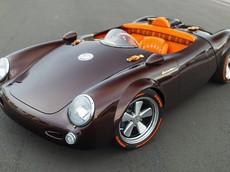 Ngắm tuyệt tác Porsche 550 Spyder độ với chỉ một ghế ngồi trung tâm và động cơ dát vàng