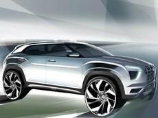 SUV cỡ B Hyundai Creta 2020 lộ diện với thiết kế mới và cửa sổ trời toàn cảnh