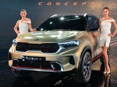 Kia Sonet - SUV cỡ B dài chưa đến 4 m hoàn toàn mới - chính thức trình làng