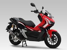 Honda ADV 150 tăng công suất, giảm gần 3kg trọng lượng nhờ ống xả Yoshimura
