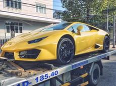 """Doanh nhân Cần Thơ """"giải cứu"""" siêu xe Lamborghini Huracan LP580-2 màu vàng độc nhất Việt Nam"""