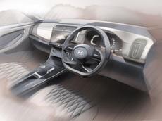 """""""Tiểu Palisade"""" Hyundai Creta 2020 tiếp tục lộ nội thất, bán ra vào tháng sau"""