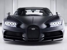 Bugatti Chiron thứ 250 xuất xưởng với màu sơn carbon mờ lôi cuốn