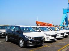 THACO chính thức xuất khẩu Kia Sedona sang Thái Lan