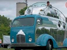 Khám phá Decoliner - Chiếc xe 2 tầng cực độc trị giá 11,6 tỷ đồng cho phép cầm lái từ trên nóc