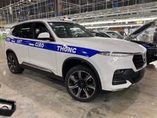 VinFast lắp thử nghiệm xe chuyên dụng cho cảnh sát giao thông