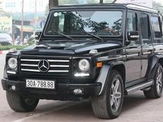 """Mua bán Mercedes-Benz G55 AMG nhanh gọn nhờ biển """"tứ quý"""" 8 đẹp mắt"""