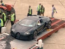 Mới về nước, chiếc Bugatti Veyron trị giá 2,8 triệu USD này đã bị tịch thu và có thể bị nghiền nát