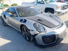 Hư hỏng thế này nhưng chiếc Porsche 911 GT2 RS 2018 vẫn được đấu giá hơn 3,7 tỷ đồng