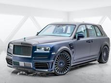 Chói mắt với SUV siêu sang Rolls-Royce Cullinan Coastline độ Mansory