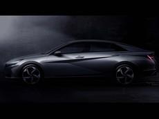 Hyundai Elantra 2021 lộ diện với thiết kế coupe 4 cửa như xe sang