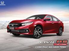 Honda Civic RS được bổ sung màu đỏ Coffee Cherry, giá tăng thêm 5 triệu
