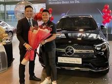 Không kém chúng bạn, cầu thủ Quang Hải cũng tậu Mercedes-Benz GLC 300 giá gần 2,4 tỷ đồng