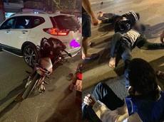 Yên Bái: Xe máy chở 3 tông vào đuôi xe Honda CR-V, 3 người thương vong