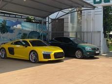"""Sau Ferrari 488 Spider, đến lượt siêu xe Audi R8 V10 PLus về """"làm dâu"""" tại tỉnh Bình Phước"""