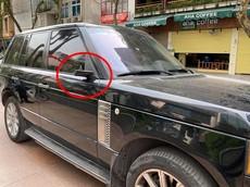 """Bị kẻ gian """"vặt gương"""" mùa dịch Covid-19, chủ xe Range Rover ở Hà Nội chỉ biết than trời"""