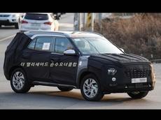Hyundai Creta 7 chỗ lần đầu tiên chạy trên đường phố, to và rộng hơn nhưng giá vẫn rẻ