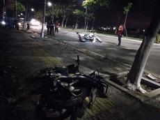 Đà Nẵng: Truy bắt nhóm đối tượng đua xe và cướp giật, 2 cảnh sát hi sinh