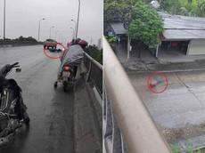 Hải Dương: Rơi từ trên cầu xuống đường bên dưới, người đàn ông đi xe máy tử vong