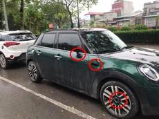 """Hà Nội: Thêm xe đắt tiền bị kẻ gian """"vặt đồ"""" trong mùa dịch Covid-19, lần này là Mini Cooper"""