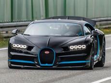 Đây là cách thức người ta quay phim một chiếc Bugatti Chiron ở tốc độ 403 km/h