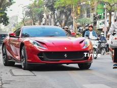 Choáng với lệ phí trước bạ hơn 3 tỷ đồng của siêu xe Ferrari 812 Superfast tại Việt Nam