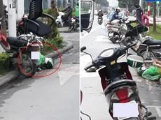 Hà Nội: Tránh xe khác, tài xế GrabBike chạy ngược chiều tông xe máy vào trụ điện, một người nguy kịch
