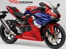 Honda CBR250RR-R với động cơ 4 xylanh lộ diện thiết kế mới